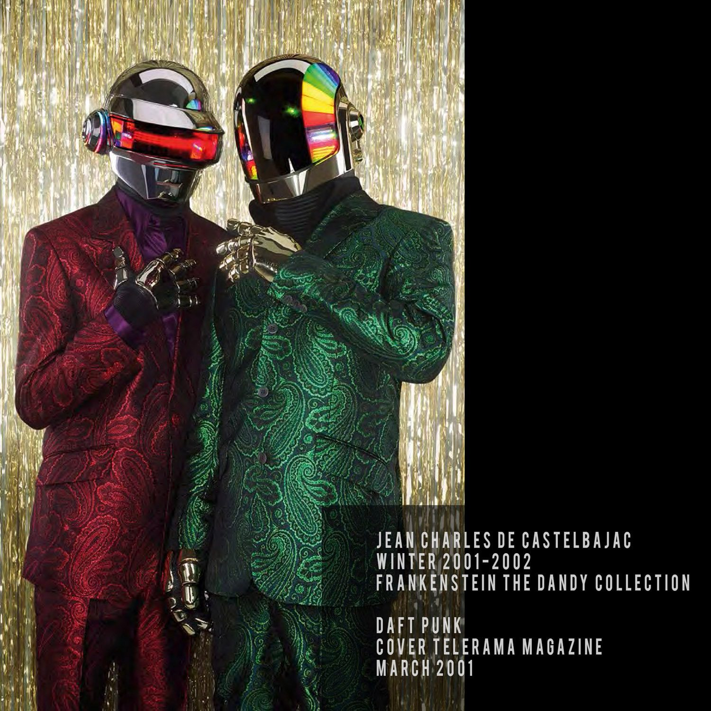 JC de Castelbajac-Winter 2001-2002-Frankenstein the Dandy Collection-Daft Punk-Cover Telerama March 2001