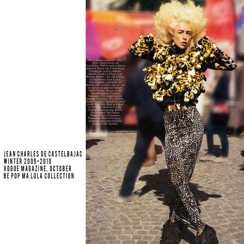 JC de Castelbajac-Winter 2009-2010-Be Pop My Lola Collection-Vogue Magazine