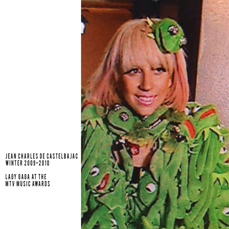 JC de Castelbajac-Winter 2009-2010-Lady Gaga at MTV Music Awards