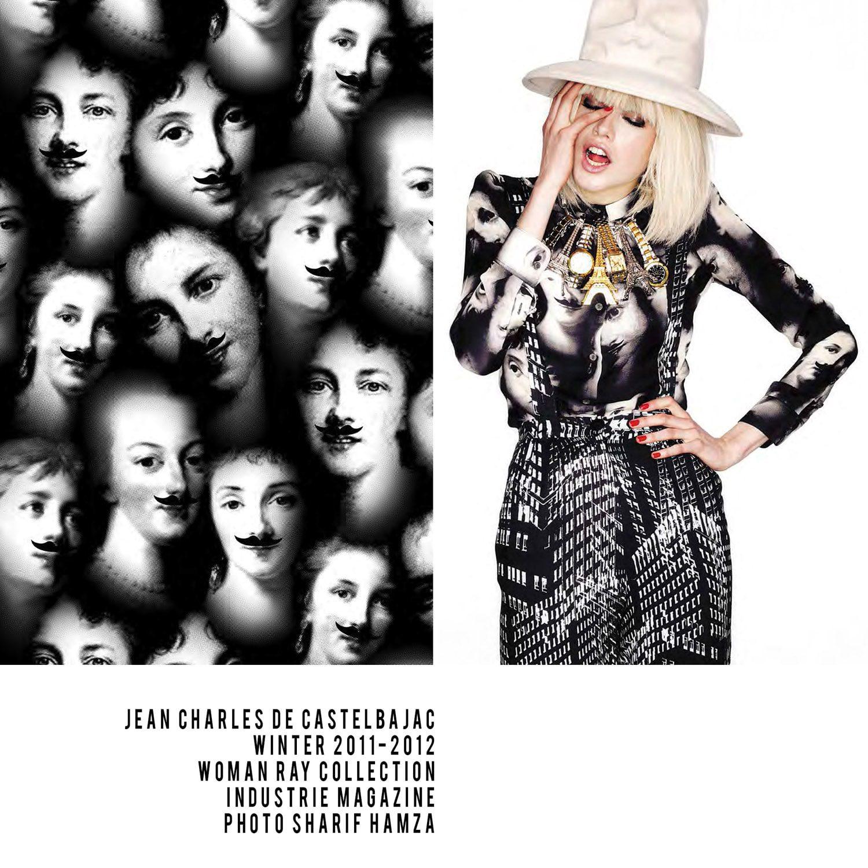 JC de Castelbajac-Winter 2011-2012-Woman Ray Collection-Photo Sharif Hamza-Industrie Magazine