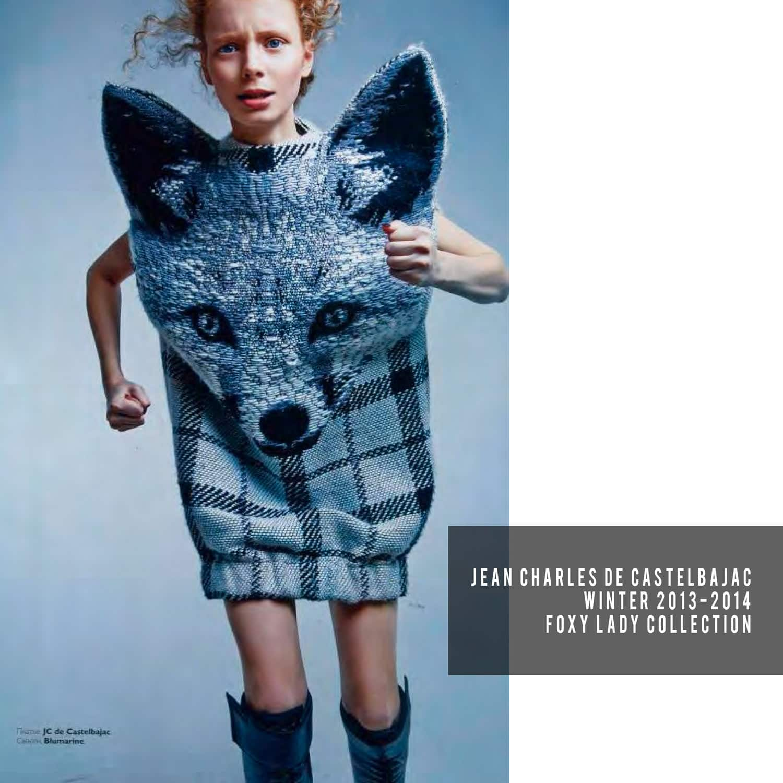 JC de Castelbajac-Winter 2013-2014-Foxy Lady Collection