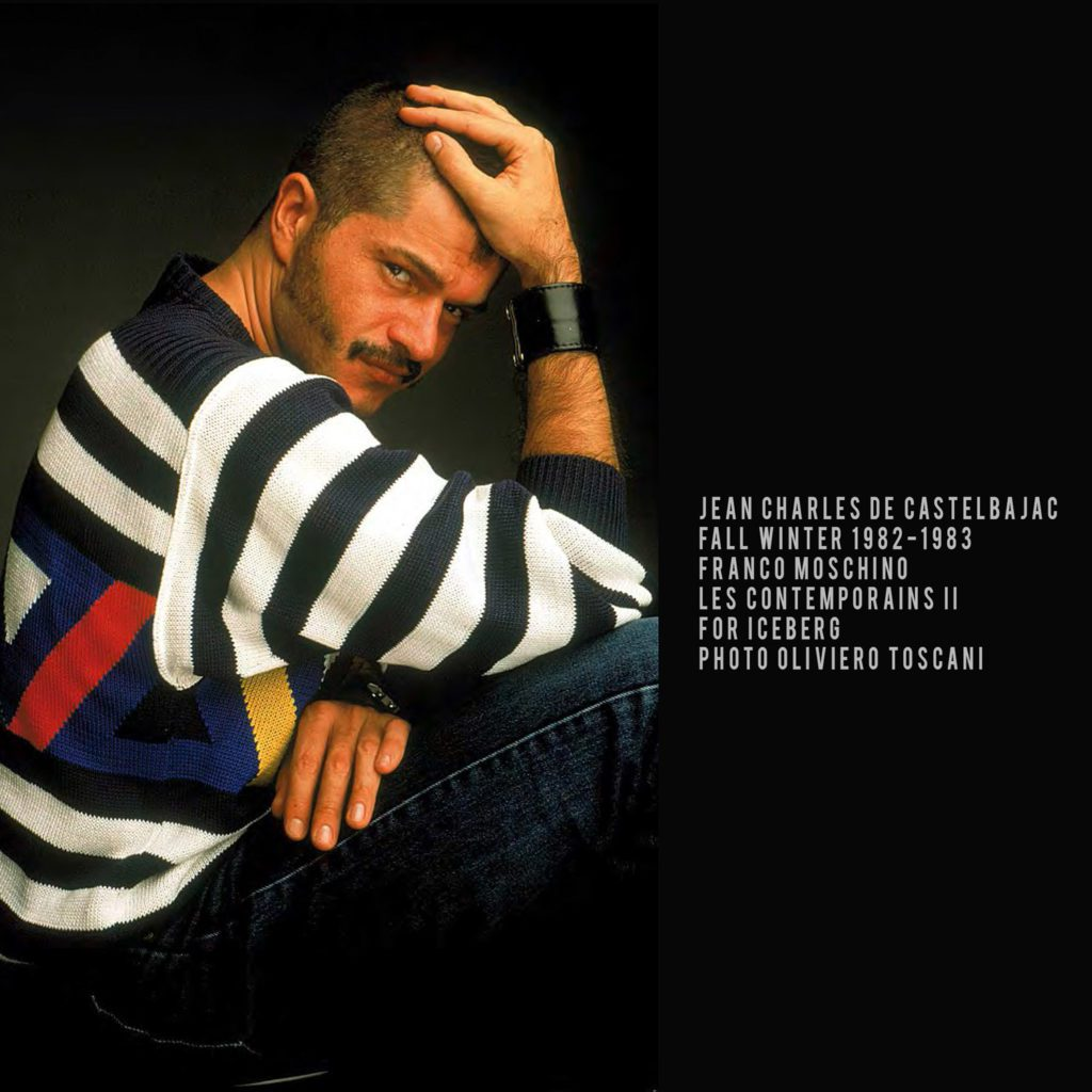 JC de Castelbajac for ICEBERG-1982-Franco Moschino-les contemporains II-photo Oliviero Toscani