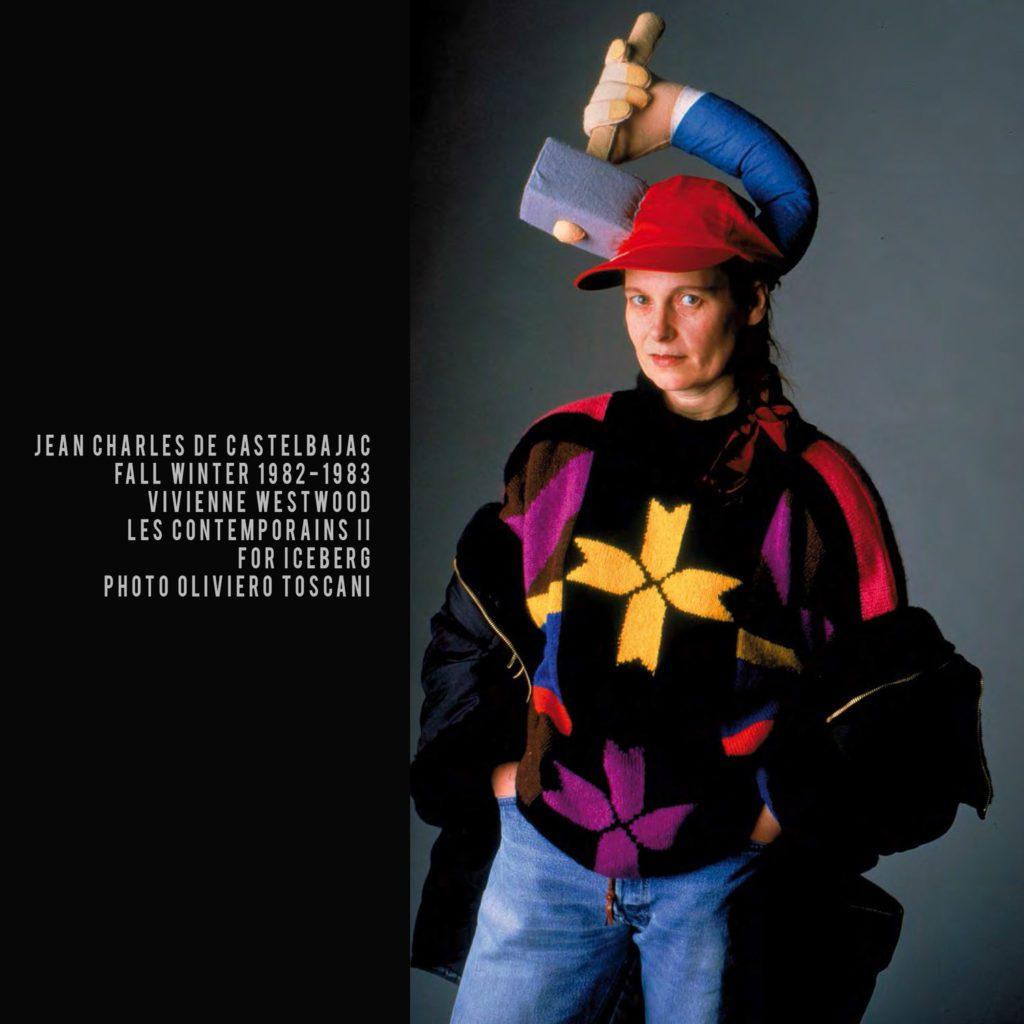 JC de Castelbajac for ICEBERG-1982-Vivienne Westwood-les contemporains II-photo Oliviero Toscani