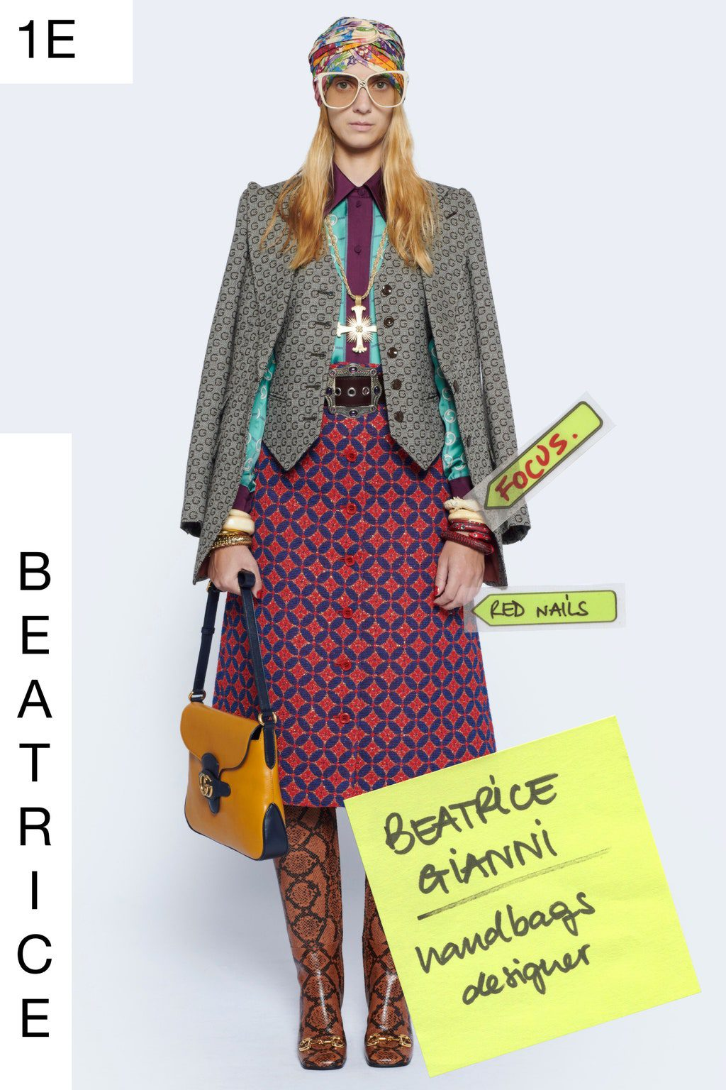 Gucci Spring Summer 2021 Resort by RUNWAY MAGAZINE