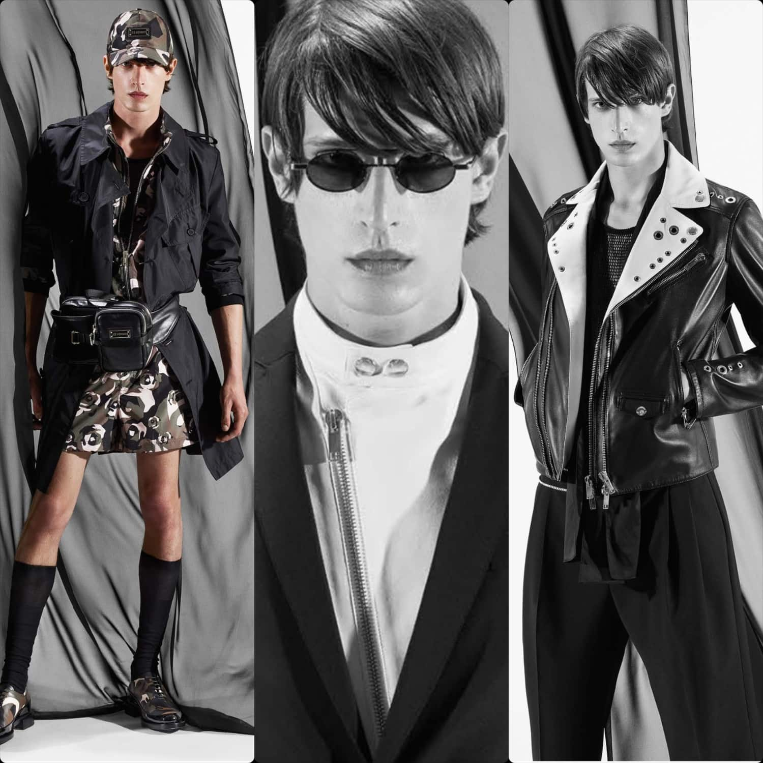 Les Hommes Spring Summer 2021 Men by RUNWAY MAGAZINE