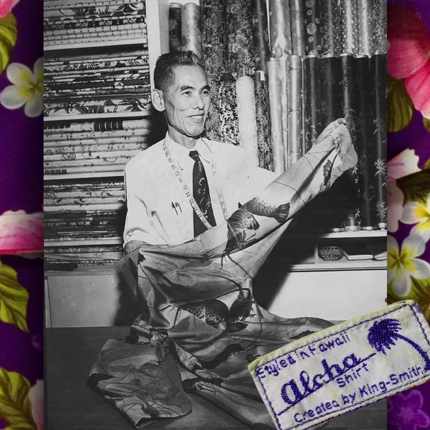 Koichiro Miyamoto, aka Musa-Shiya the Shirtmaker - one of the first Hawaii shirt tailors