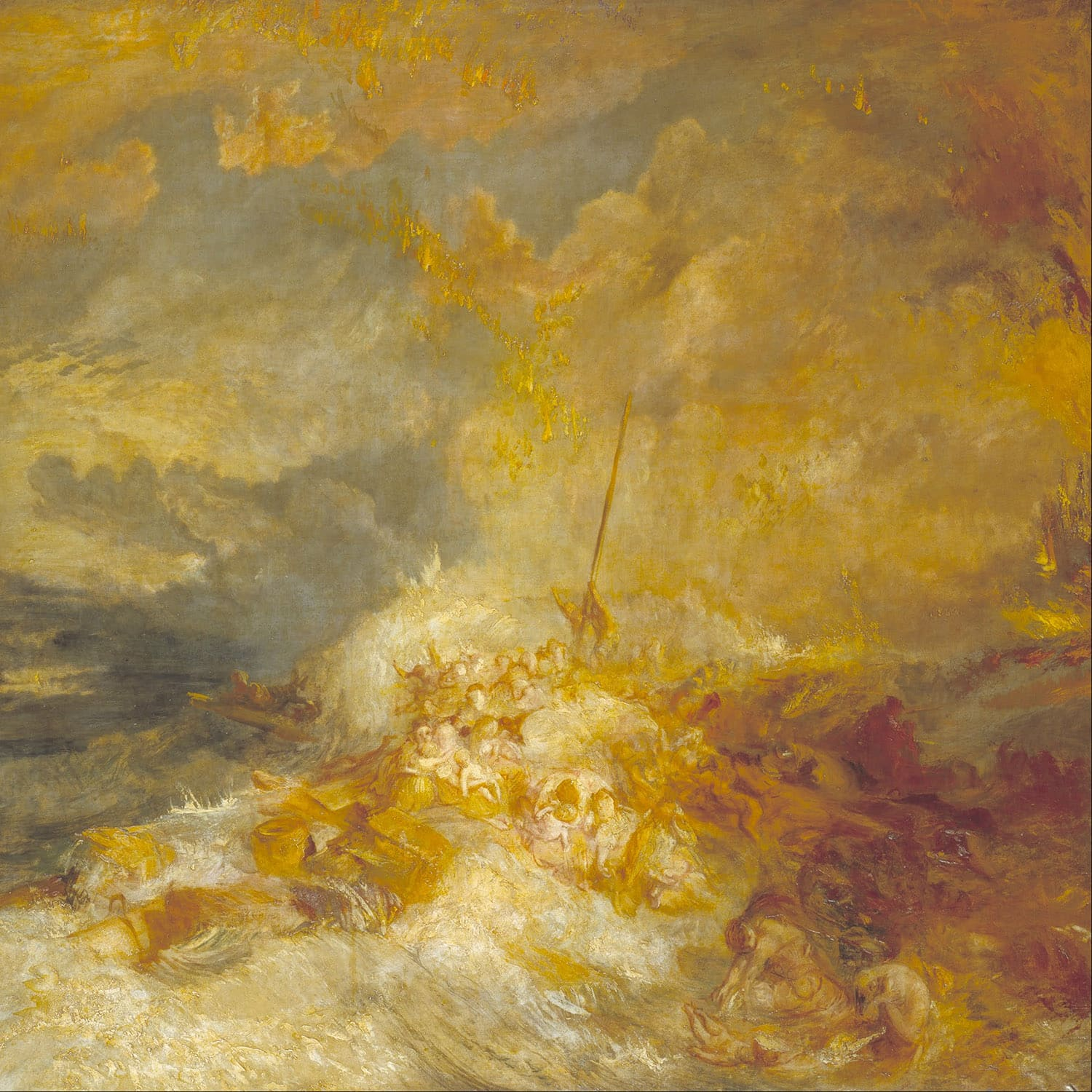A disaster of sea - JMW Turner