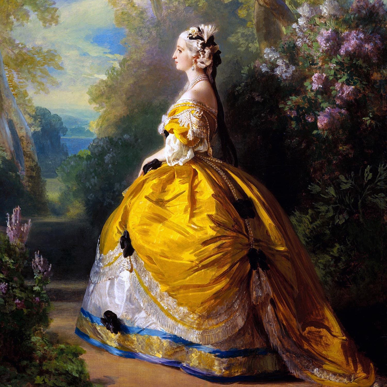 Empress Eugenie 1854 - Franz Xaver Winterhalter