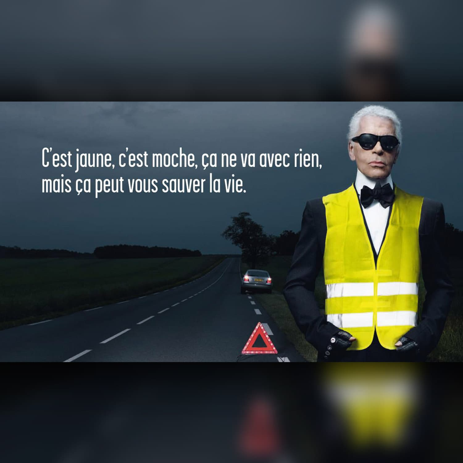 Karl Lagerfeld - Commercial for yellow vests