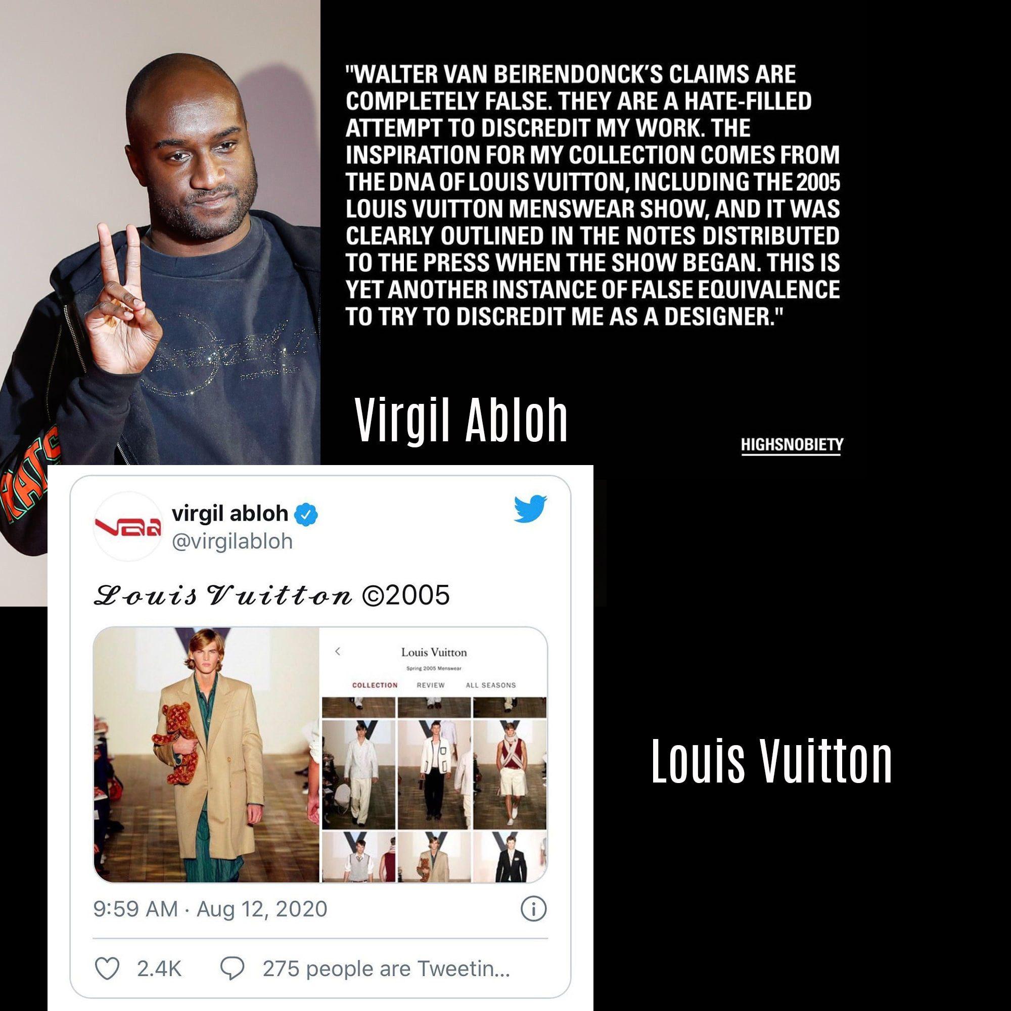 Virgil Abloh Louis Vuitton Spring Summer Menswear 2021
