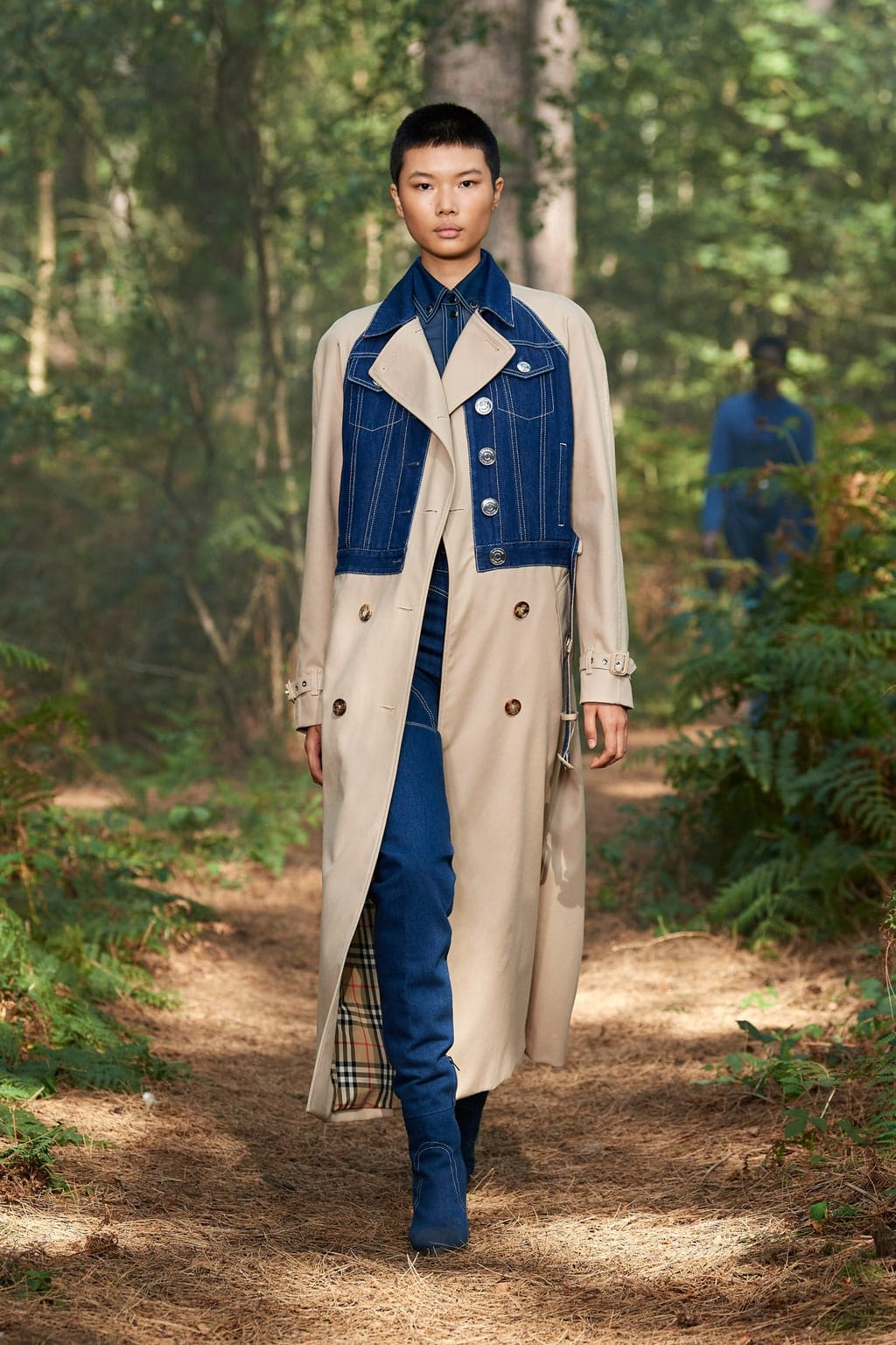 Burberry Spring Summer 2021 London by RUNWAY MAGAZINE
