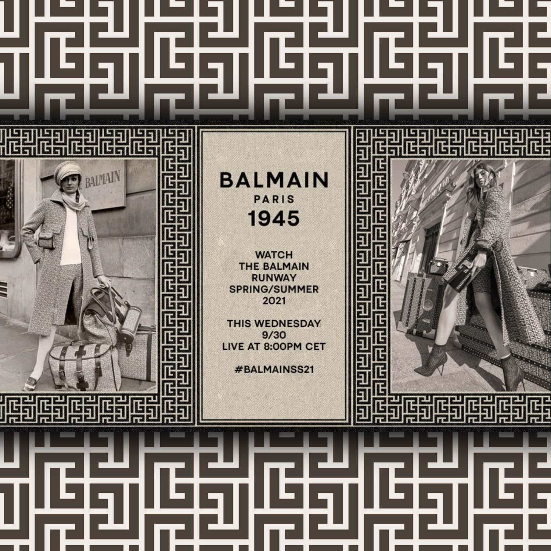 Balmain Spring Summer 2021 by RUNWAY MAGAZINE