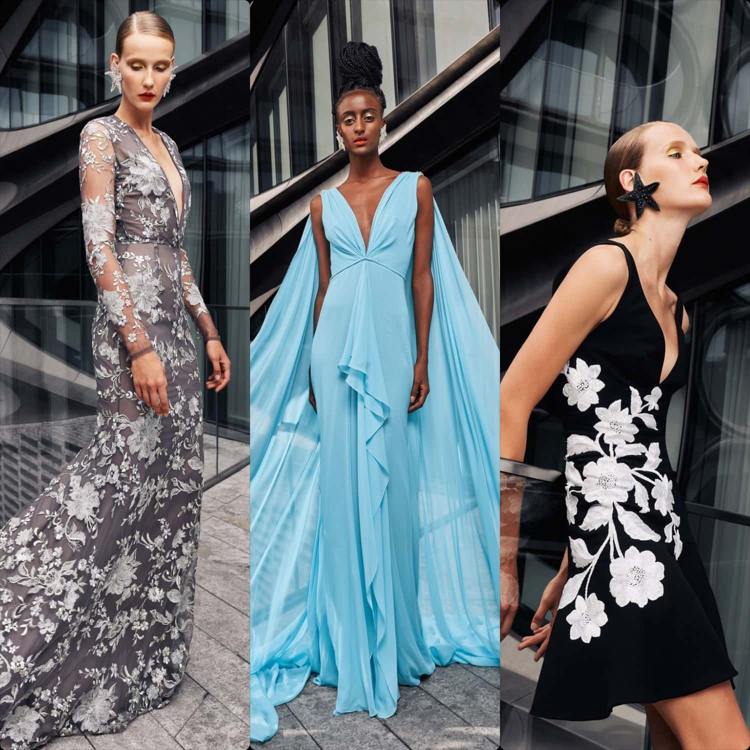 Naeem Khan Spring Summer 2021 New York by RUNWAY MAGAZINE