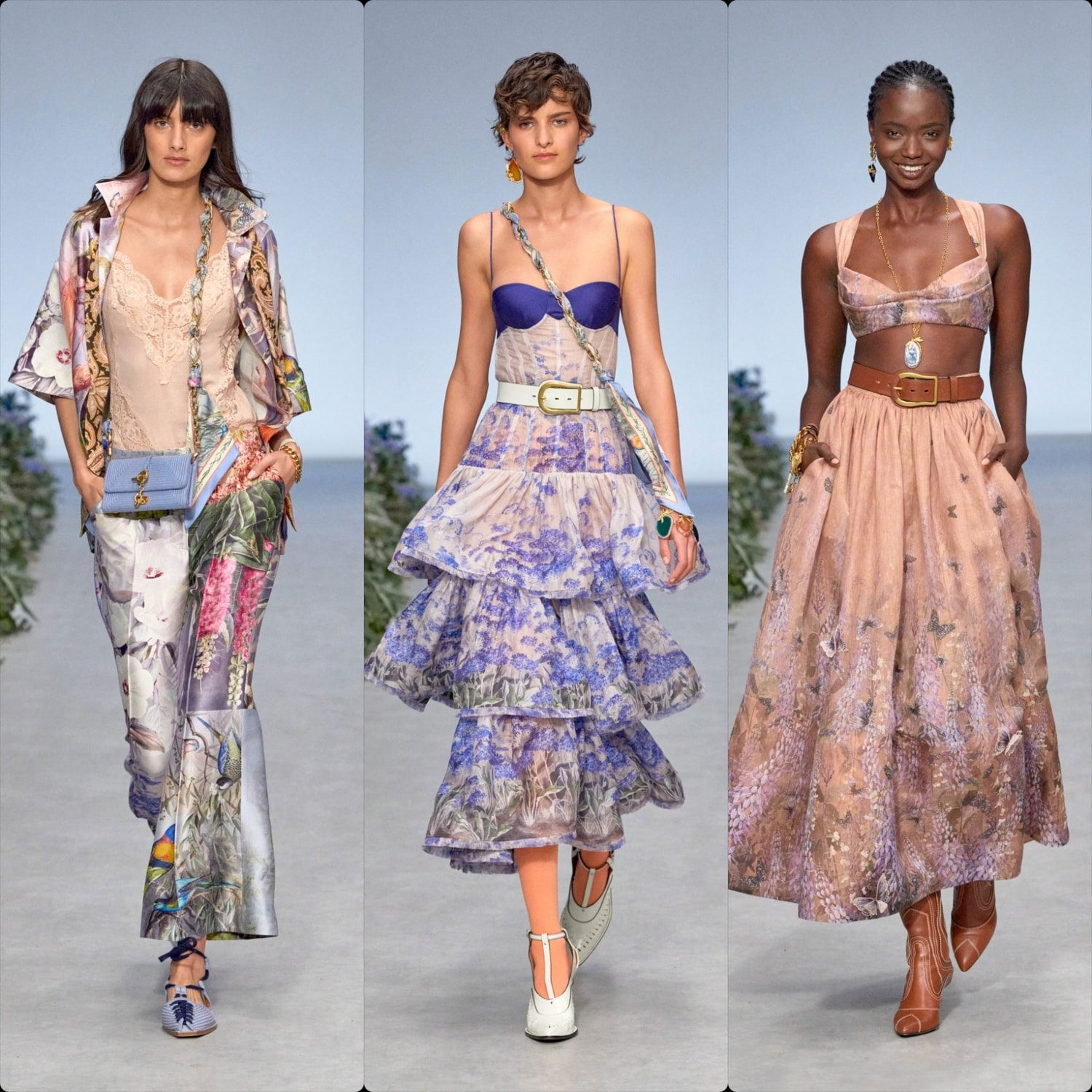 Zimmermann Spring Summer 2021 New York by RUNWAY MAGAZINE