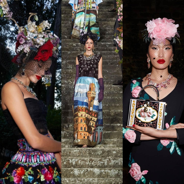 Dolce Gabbana Alta Moda Firenze 2020 by RUNWAY MAGAZINE