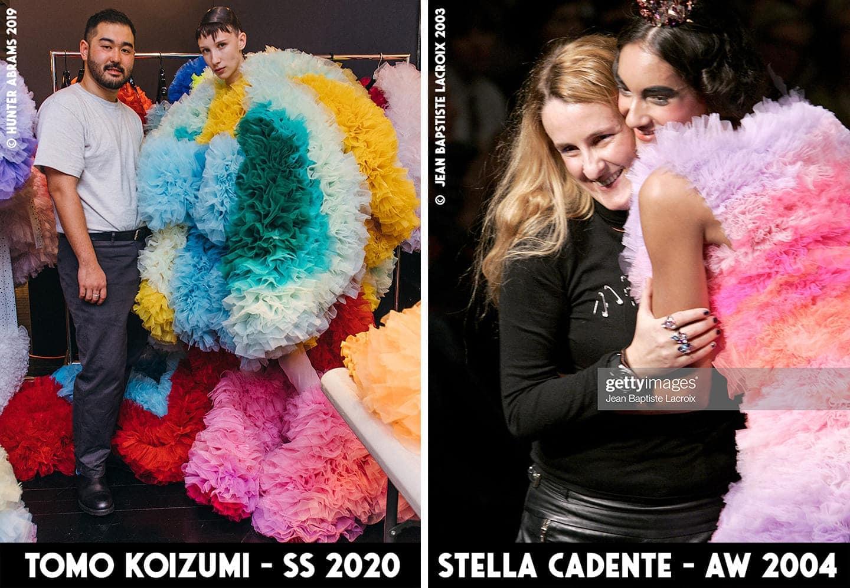 Stella Cadente Stanislassia Klein vs Tomo Koizumi by RUNWAY MAGAZINE
