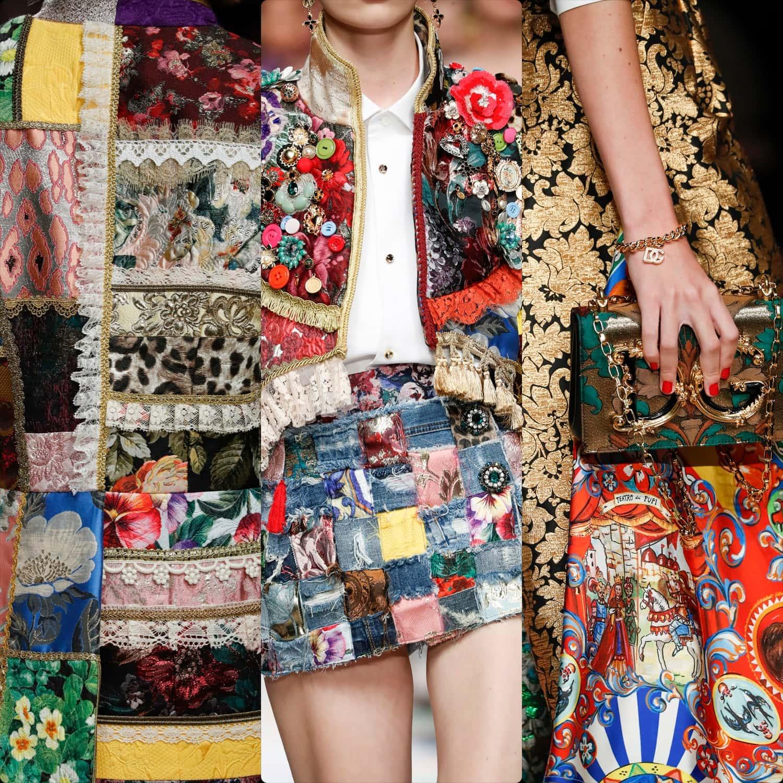 Dolce Gabbana Printemps Été 2021 par RUNWAY MAGAZINE