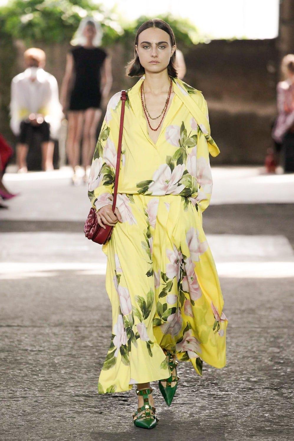 Valentino Spring Summer 2021 Milan by RUNWAY MAGAZINE