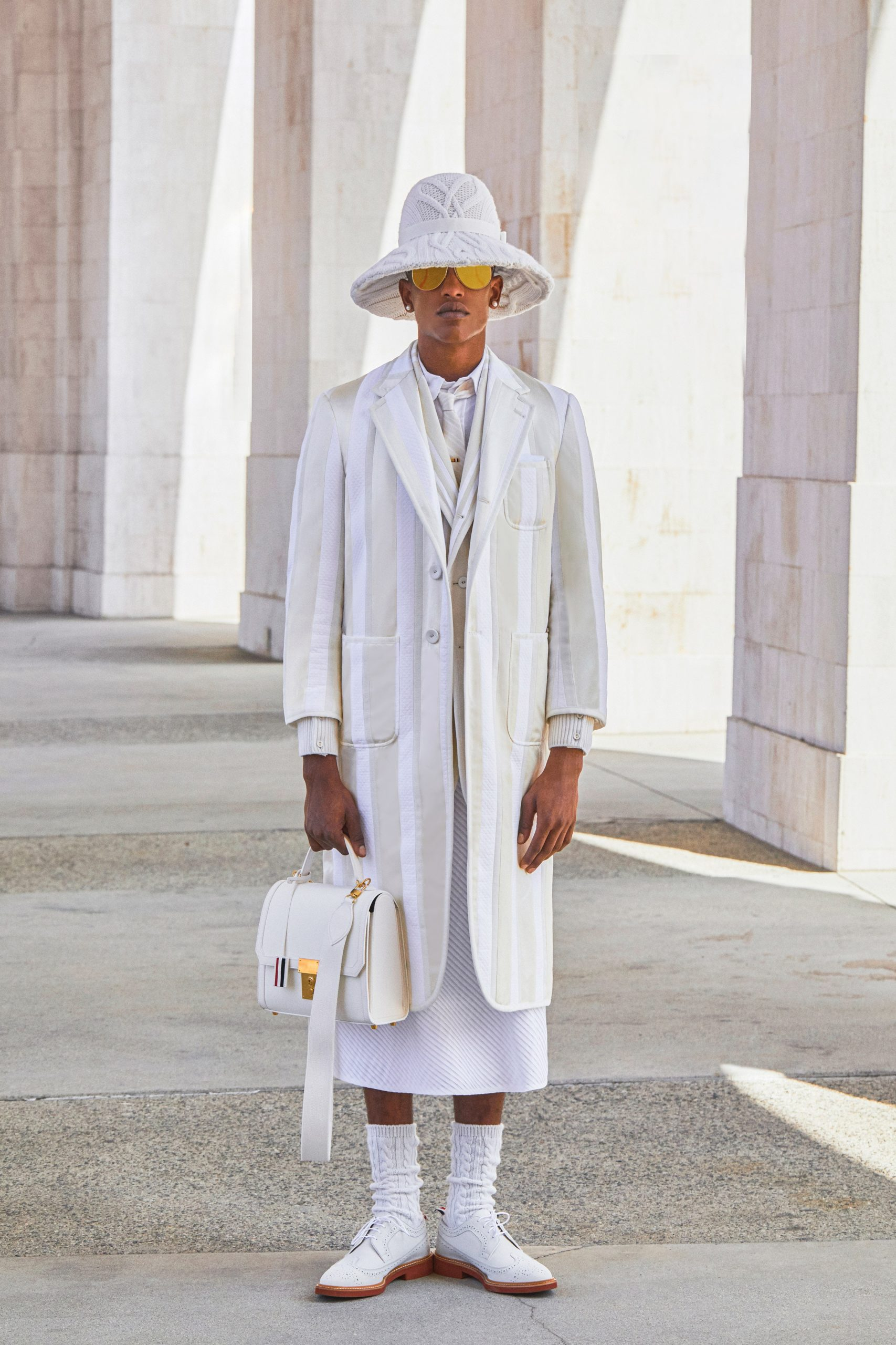 """Thom Browne Spring Summer 2021 """"Lunar Games 2132"""" from New York to Paris by RUNWAY MAGAZINE"""
