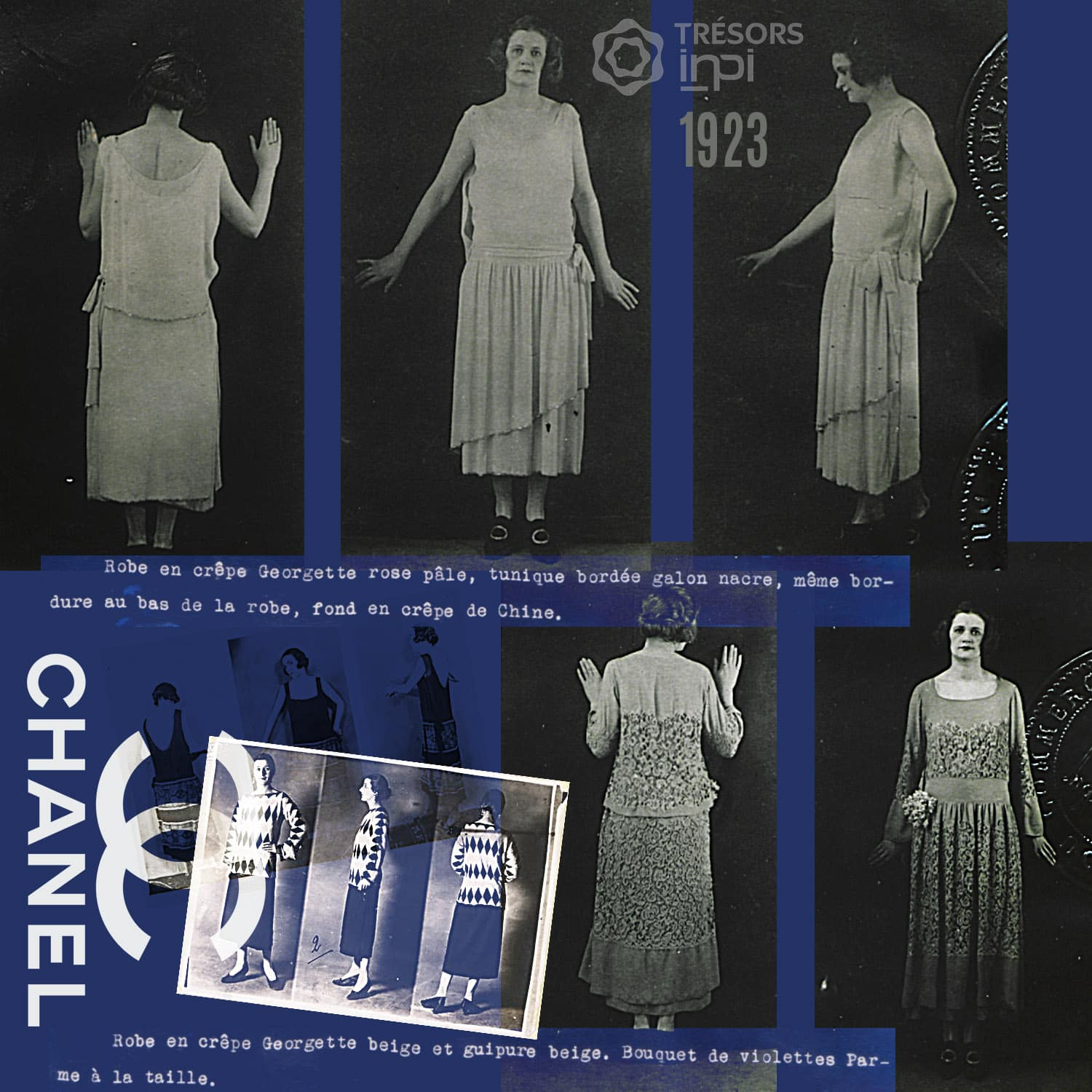 Coco Chanel 1923 inventions - INPI archives