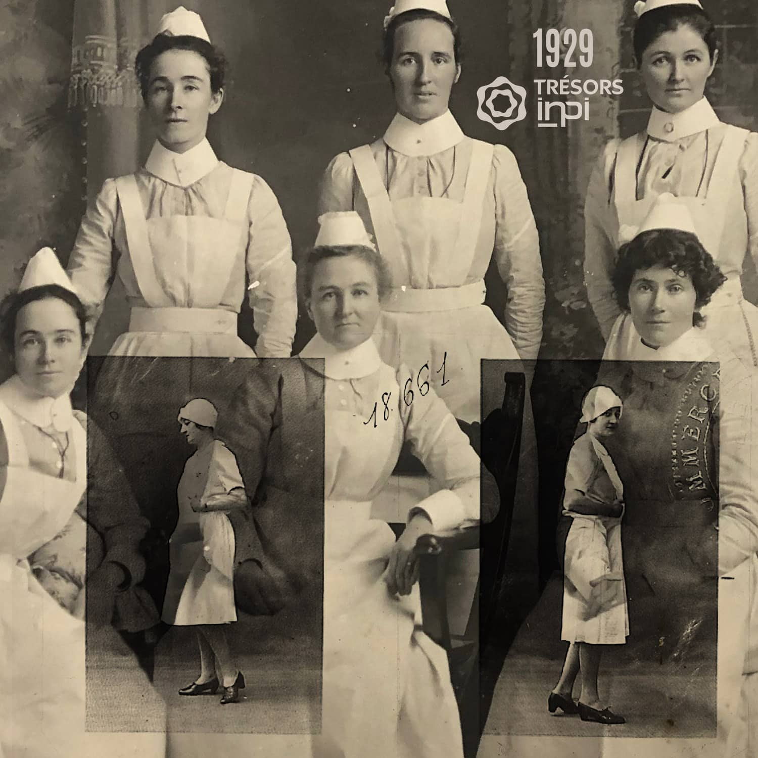 Nurse Uniform 1929 invention - INPI archives