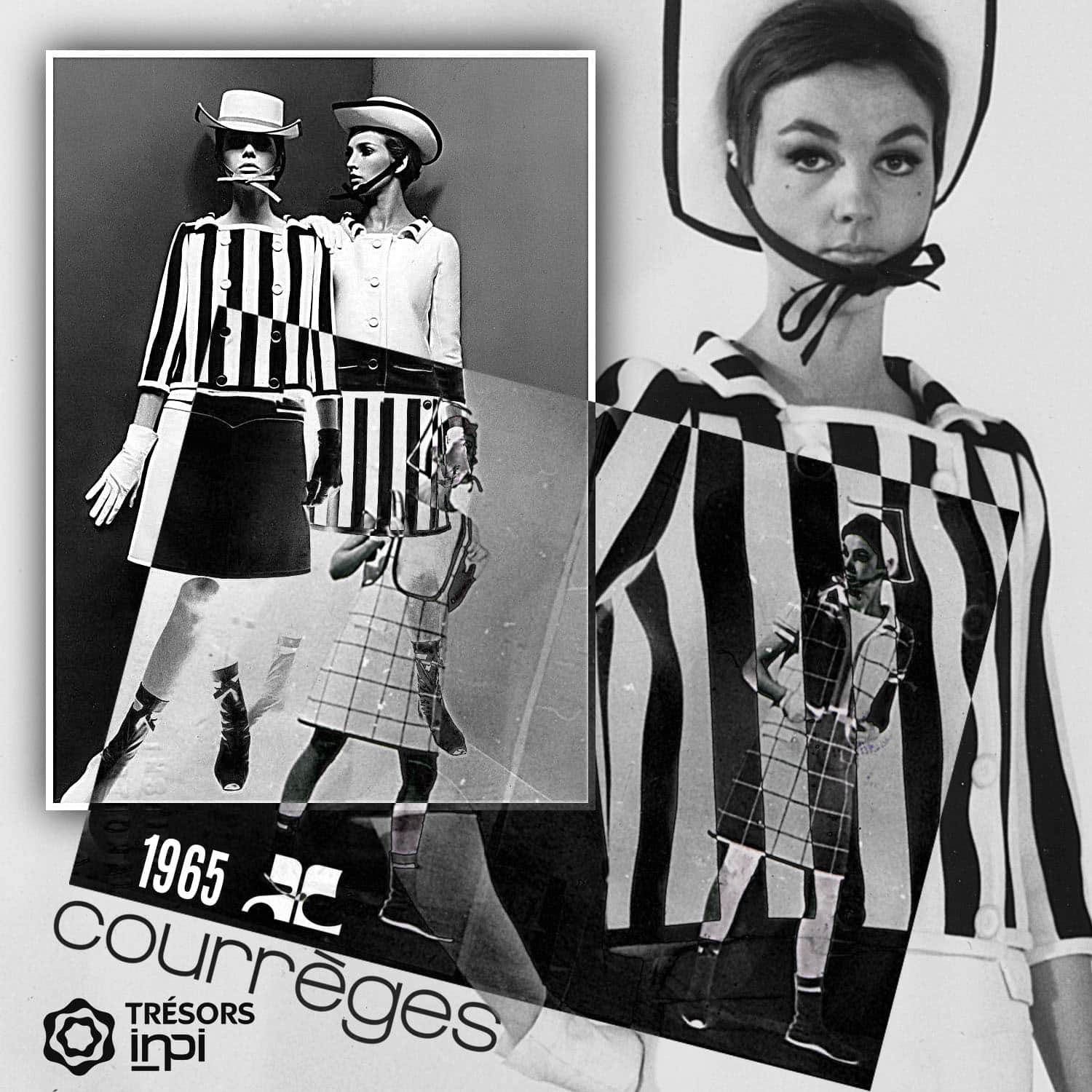 Andre Courrèges 1965 mini-skirt inventions - INPI archives