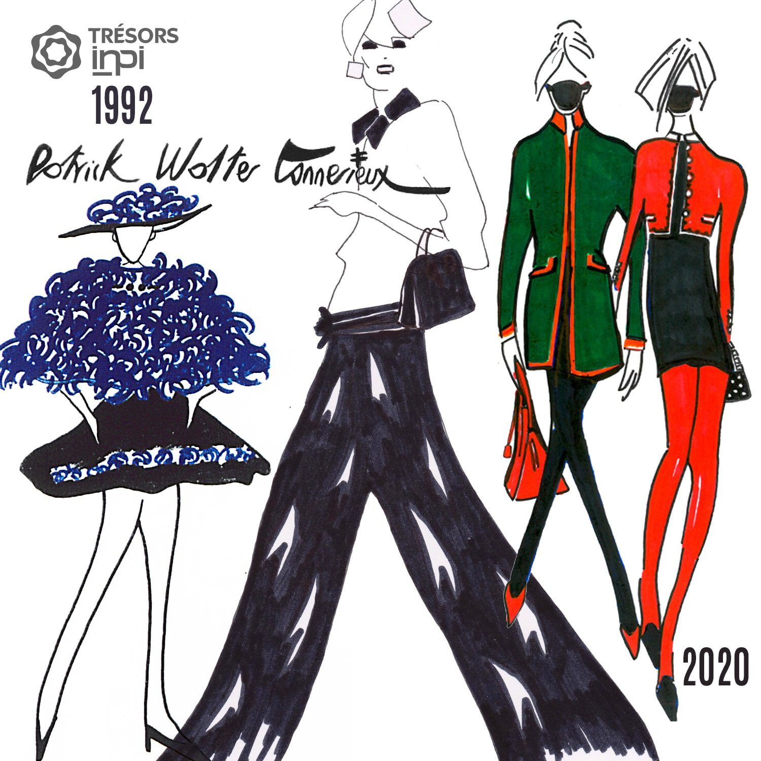 Patrick Tonnerieux 1992-2020 fashion inventions - INPI archives