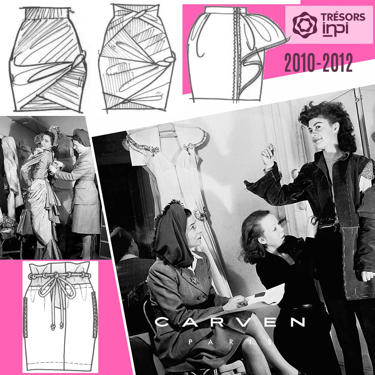Carven 2010-2012 mini-skirts inventions - INPI archives