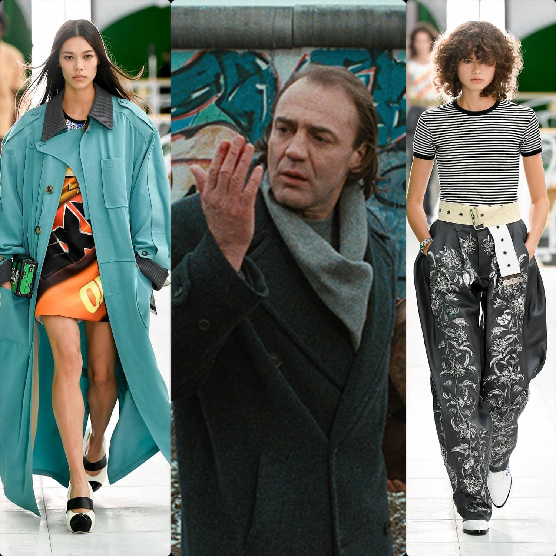 Louis Vuitton Spring Summer 2021 - Bruno Ganz Wings of Desire by RUNWAY MAGAZINE