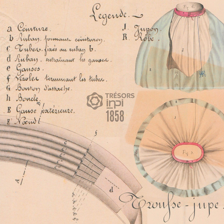 François Ildefonse, Leon Brisse 1858 invention - INPI archives
