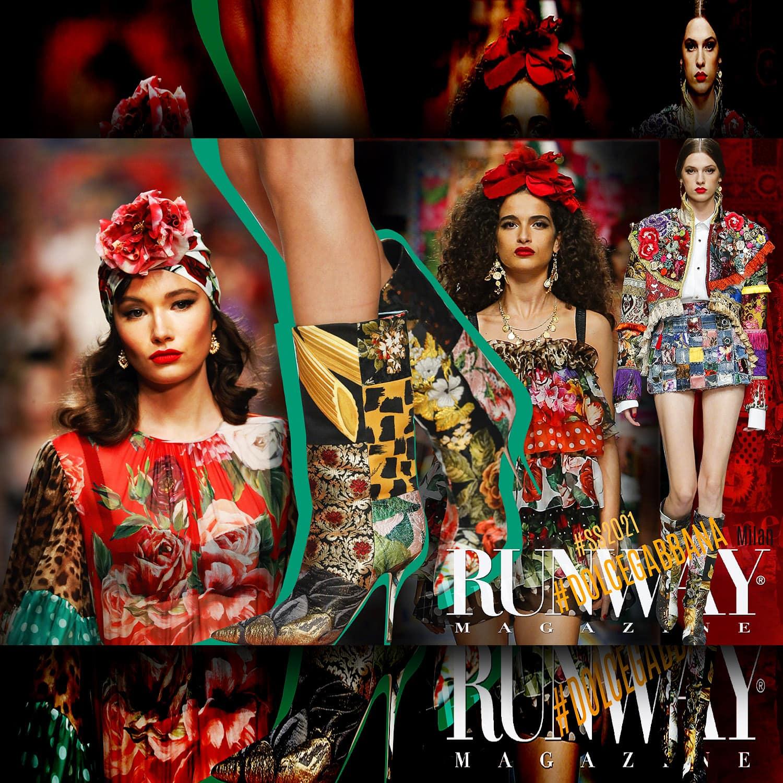 Dolce Gabbana Spring Summer 2021 Milan by RUNWAY MAGAZINE