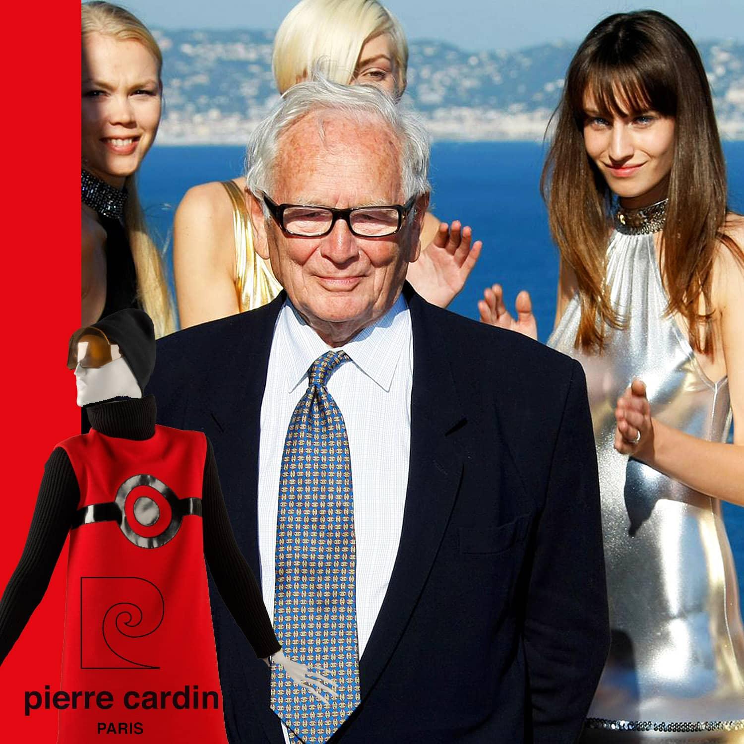 Pierre Cardin died 29 December 2020 - tribute by RUNWAY MAGAZINE