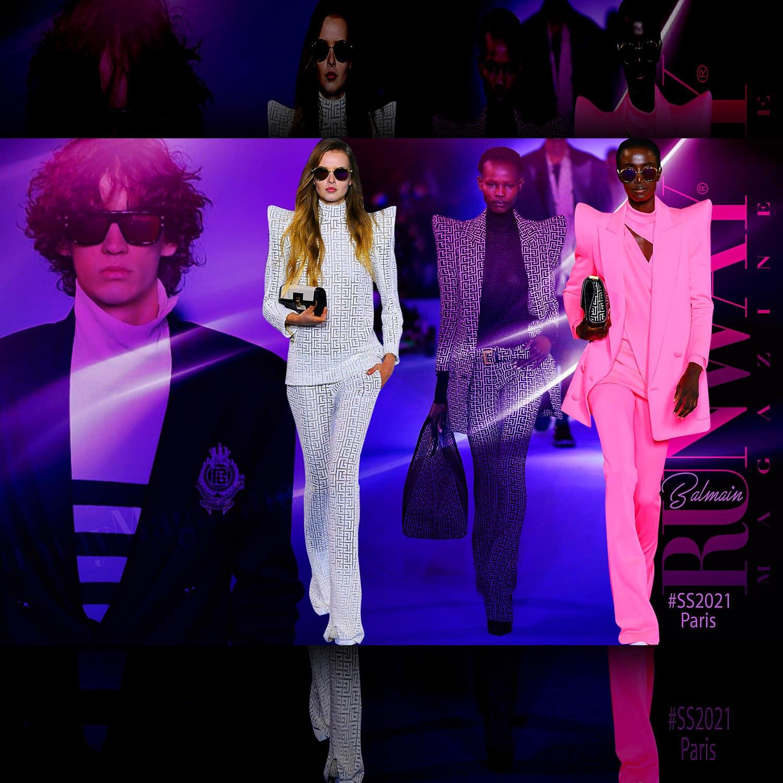 Balmain by Olivier Rousteing Spring Summer 2021 Paris by RUNWAY MAGAZINE