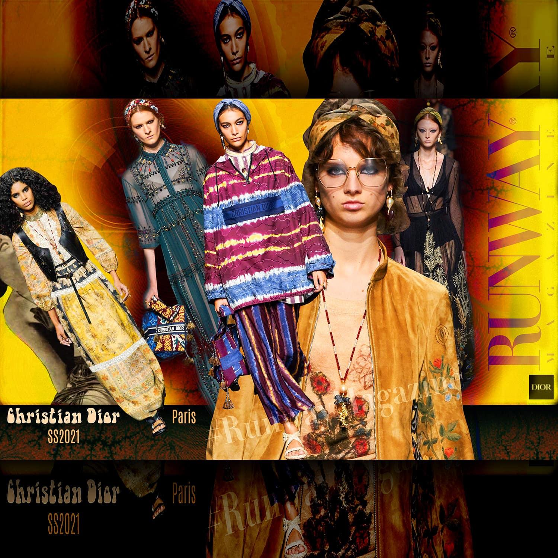 Christian Dior Spring Summer 2021 Paris by RUWNAY MAGAZINE