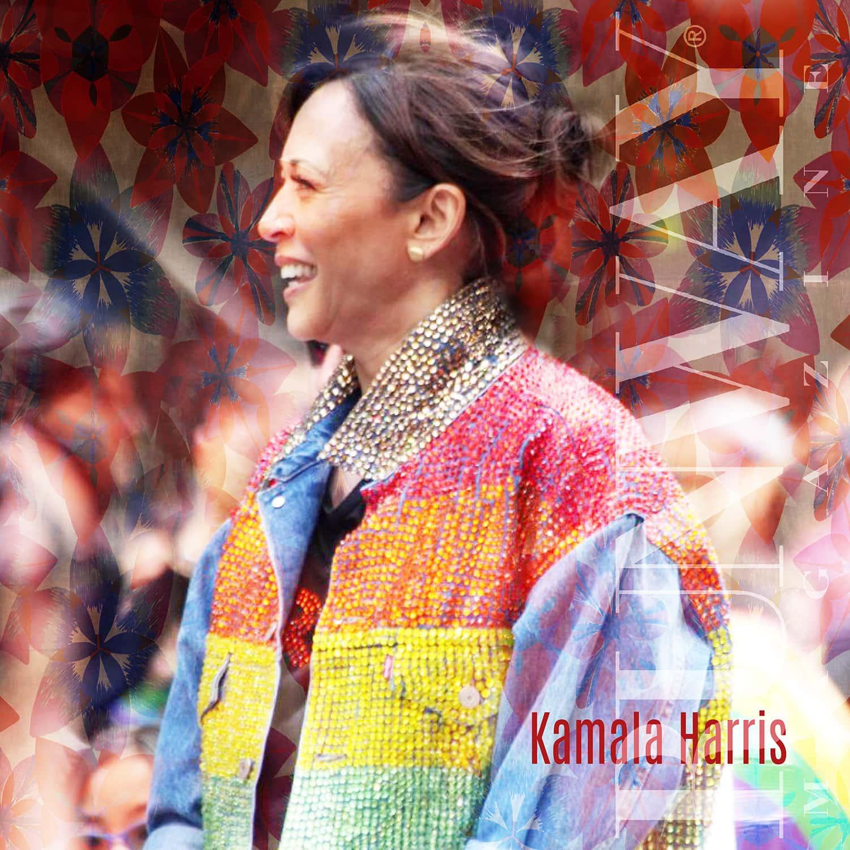 Kamala Harris by RUNWAY MAGAZINE