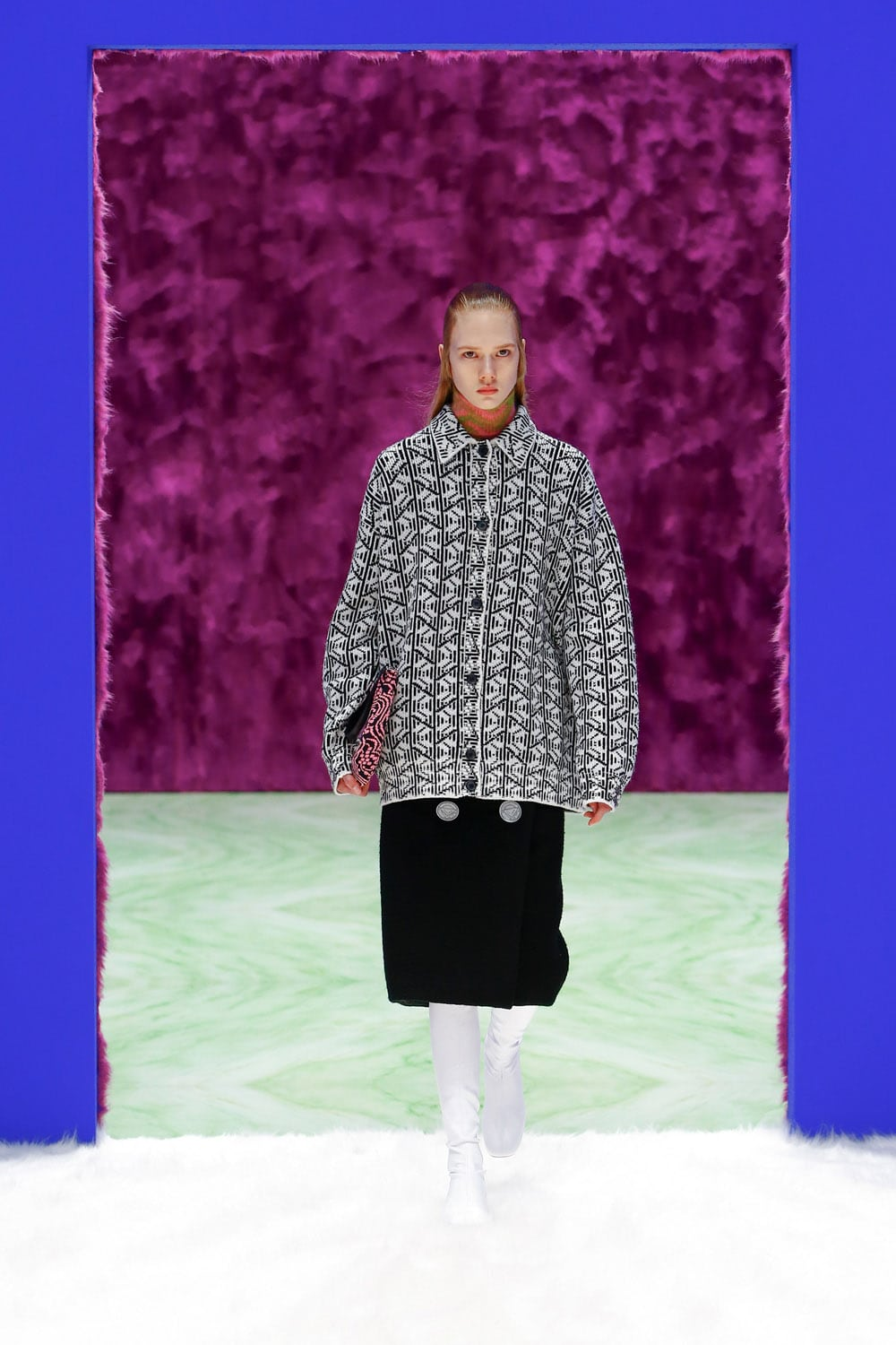 Prada Fall Winter 2021-2022 by RUNWAY MAGAZINE