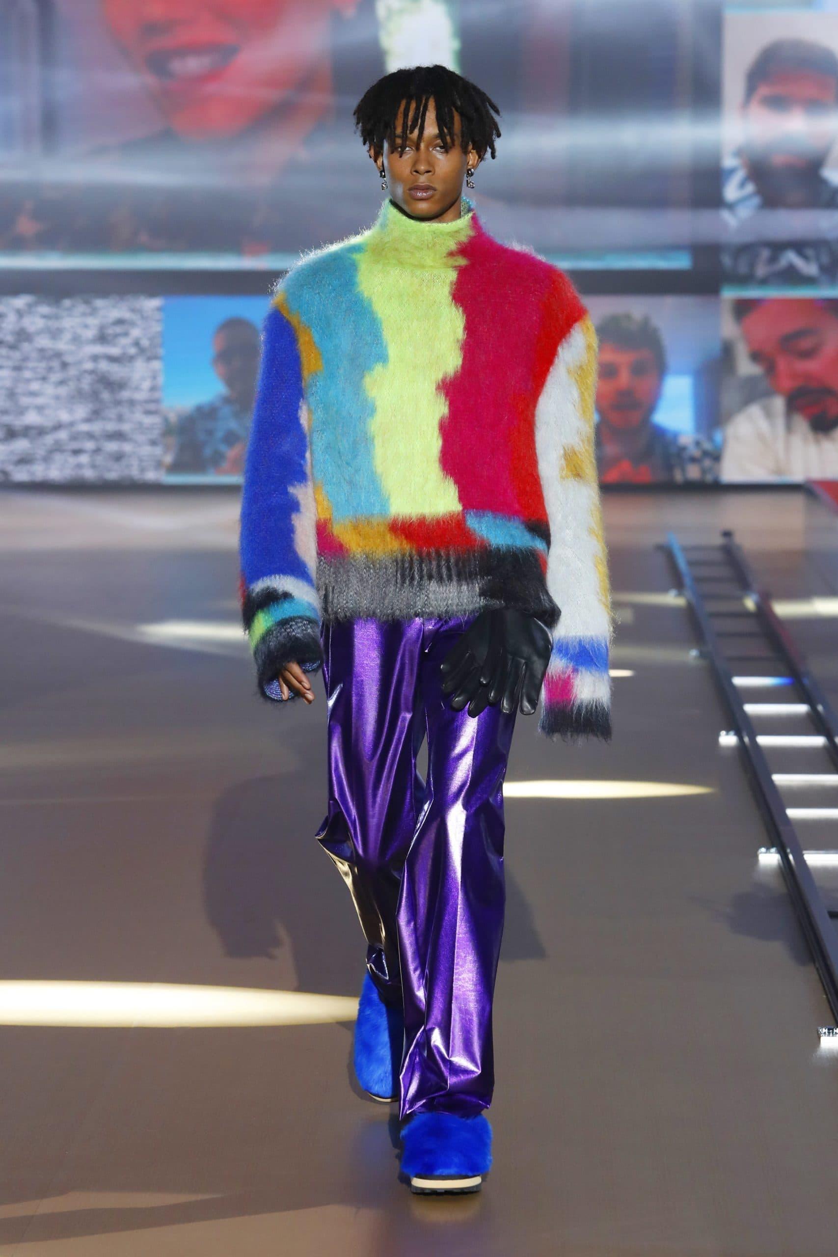 Dolce Gabbana Menswear Fall 2021-2022. Plagiarism checker by Eleonora de Gray - RUNWAY MAGAZINE