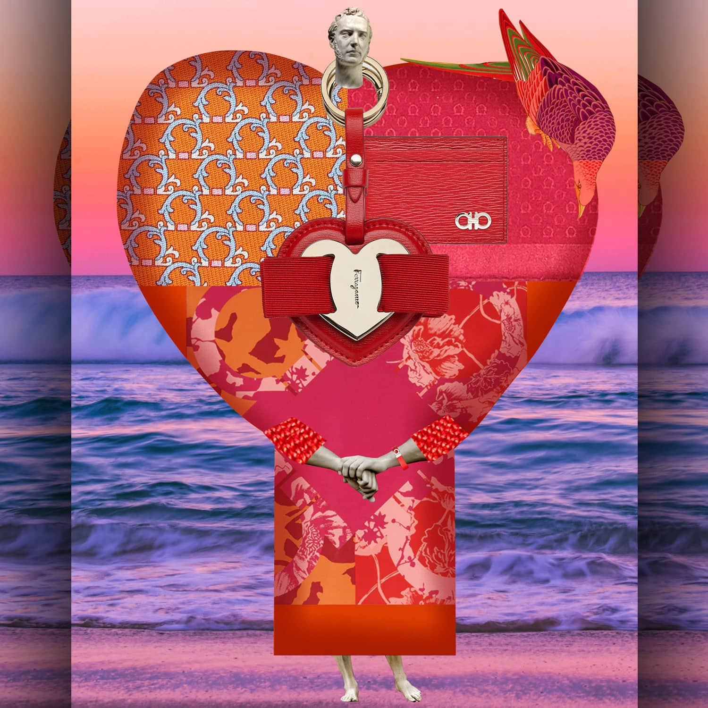 Salvatore Ferragamo by Johanna Goodman Valentine's Day - RUNWAY MAGAZINE