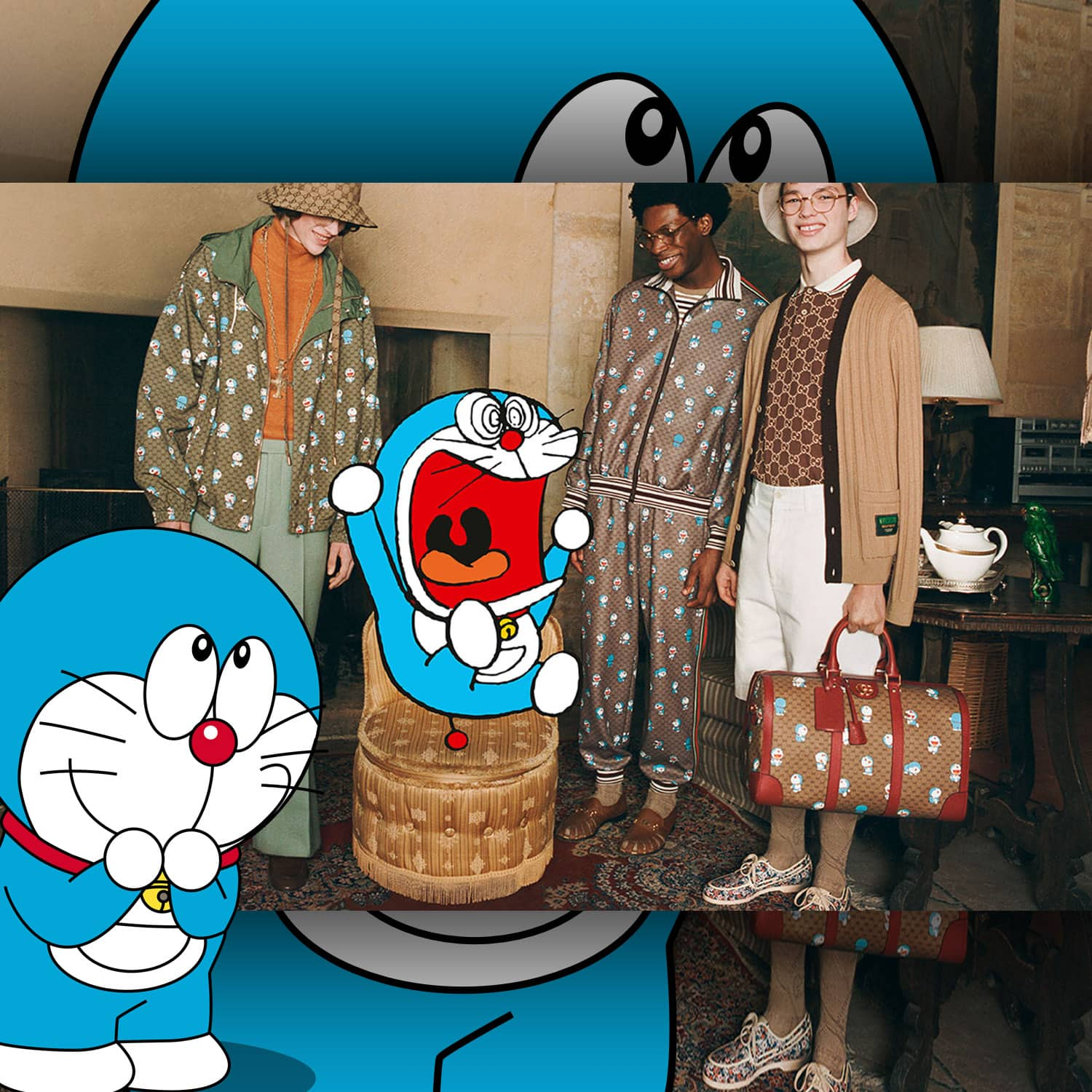 Gucci x Doraemon Capsule Collection 2021 by RUNWAY MAGAZINE