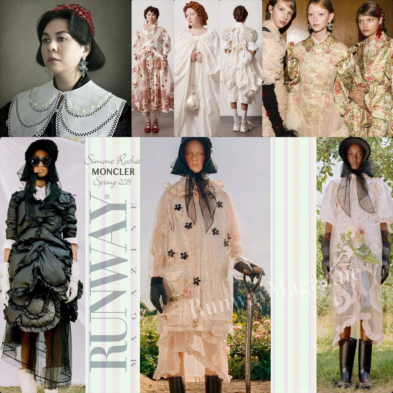 Designer Simone Rocha collections 2018-2020