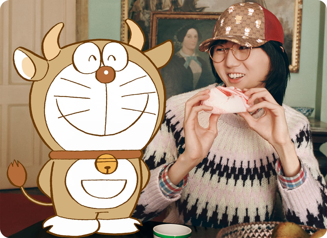 Gucci x Doraemon Capsule Collection by RUNWAY MAGAZINE