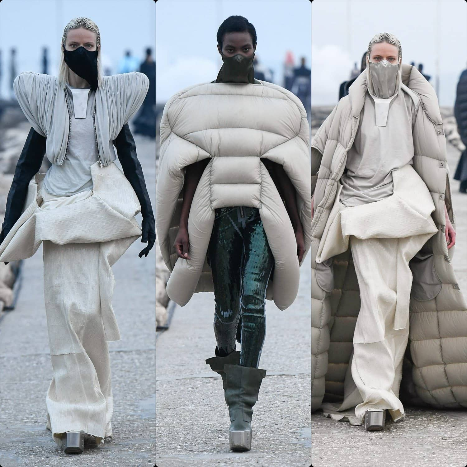 Rick Owens Fall Winter 2021-2022 by RUNWAY MAGAZINE