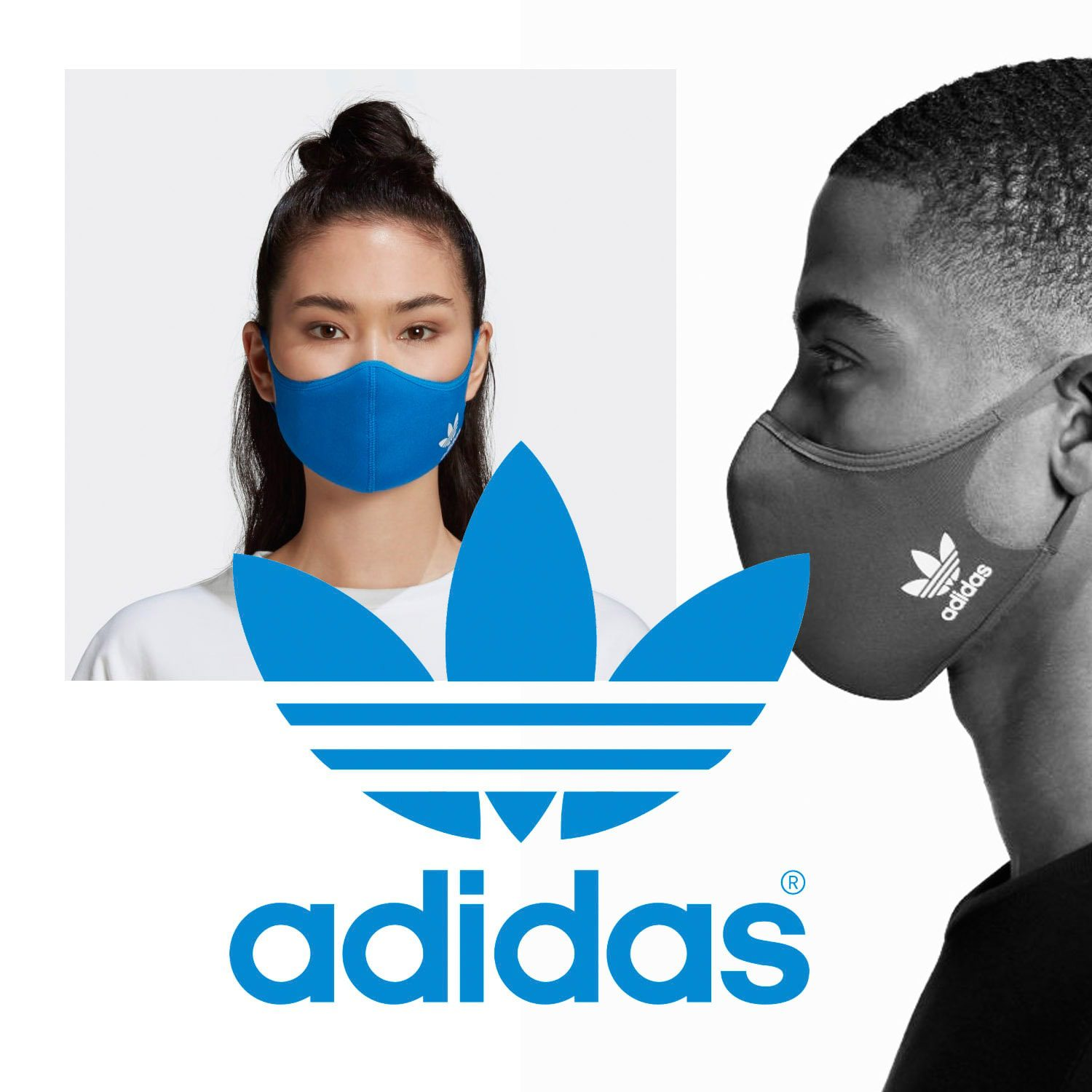 Adidas Protective Face Mask 2021 by RUNWAY MAGAZINE