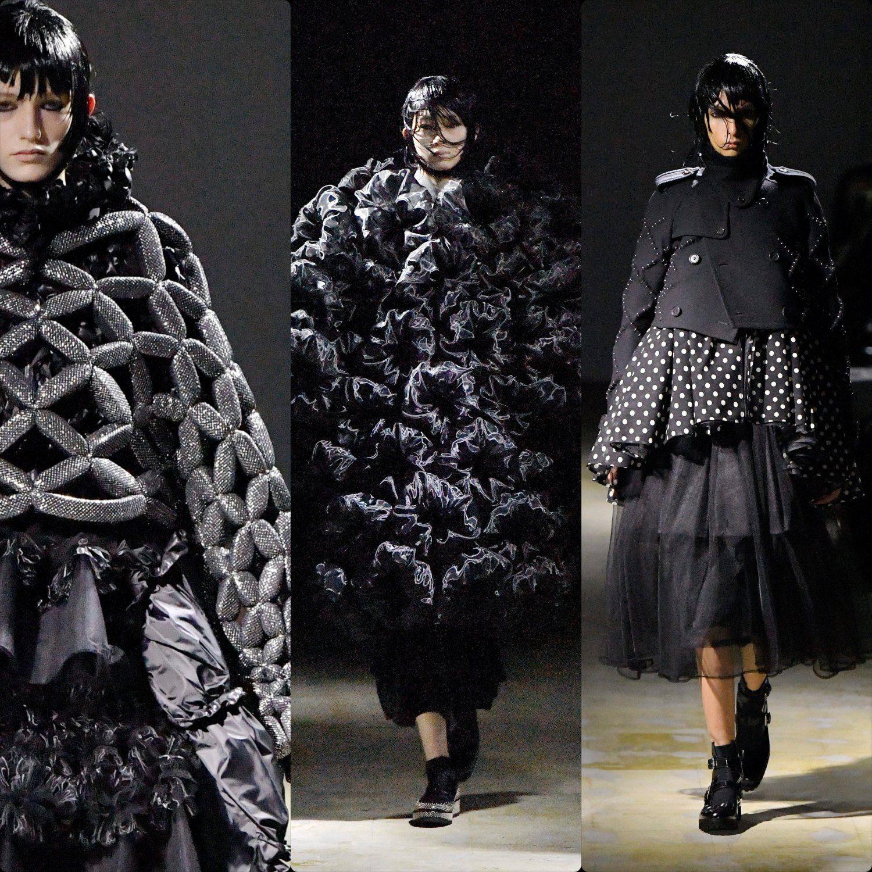 Noir Kei Ninomiya Fall Winter 2021-2022 Paris by RUNWAY MAGAZINE