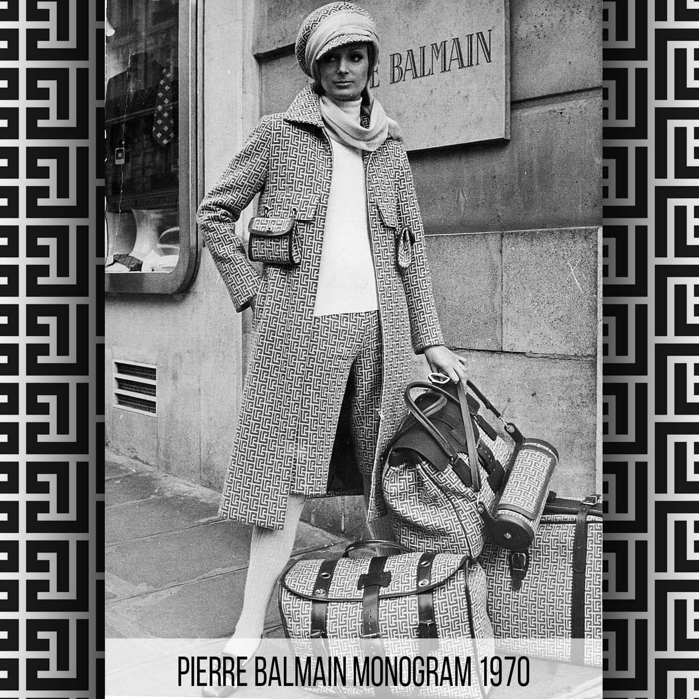 Pierre Balmain Monogram history by RUNWAY MAGAZINE