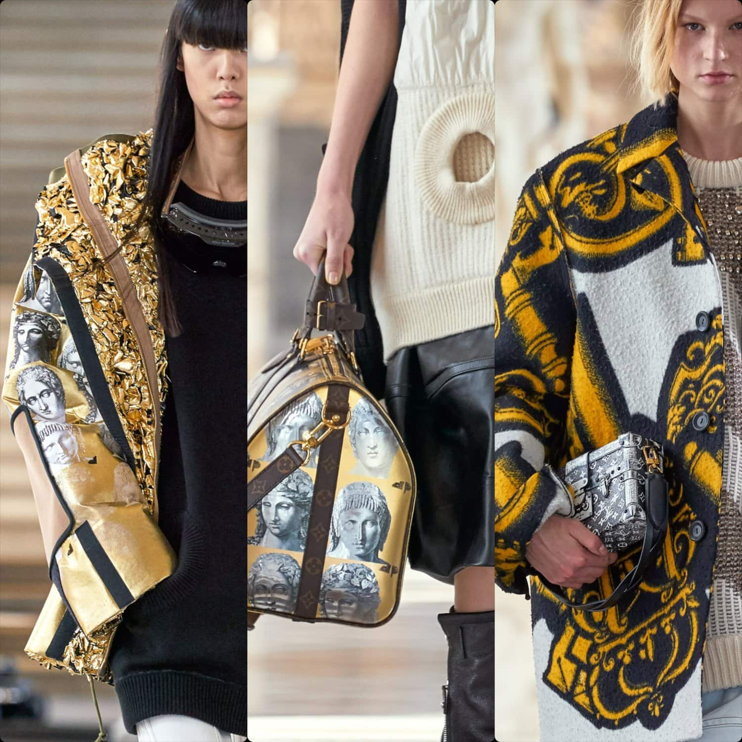 Louis Vuitton Fall Winter 2021-2022 by RUNWAY MAGAZINE