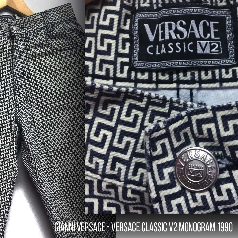 Gianni Versace - Versace Classic V2 Monogram history by RUNWAY MAGAZINE