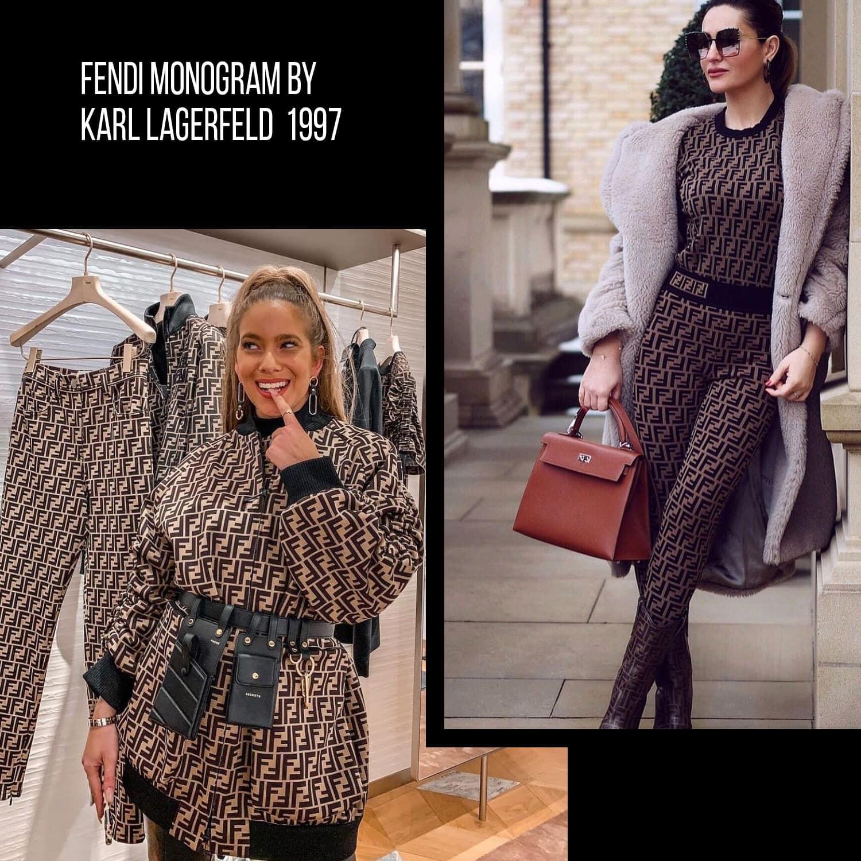 Fendi monogram by Karl Lagerfeld Monogram by RUNWAY MAGAZINE
