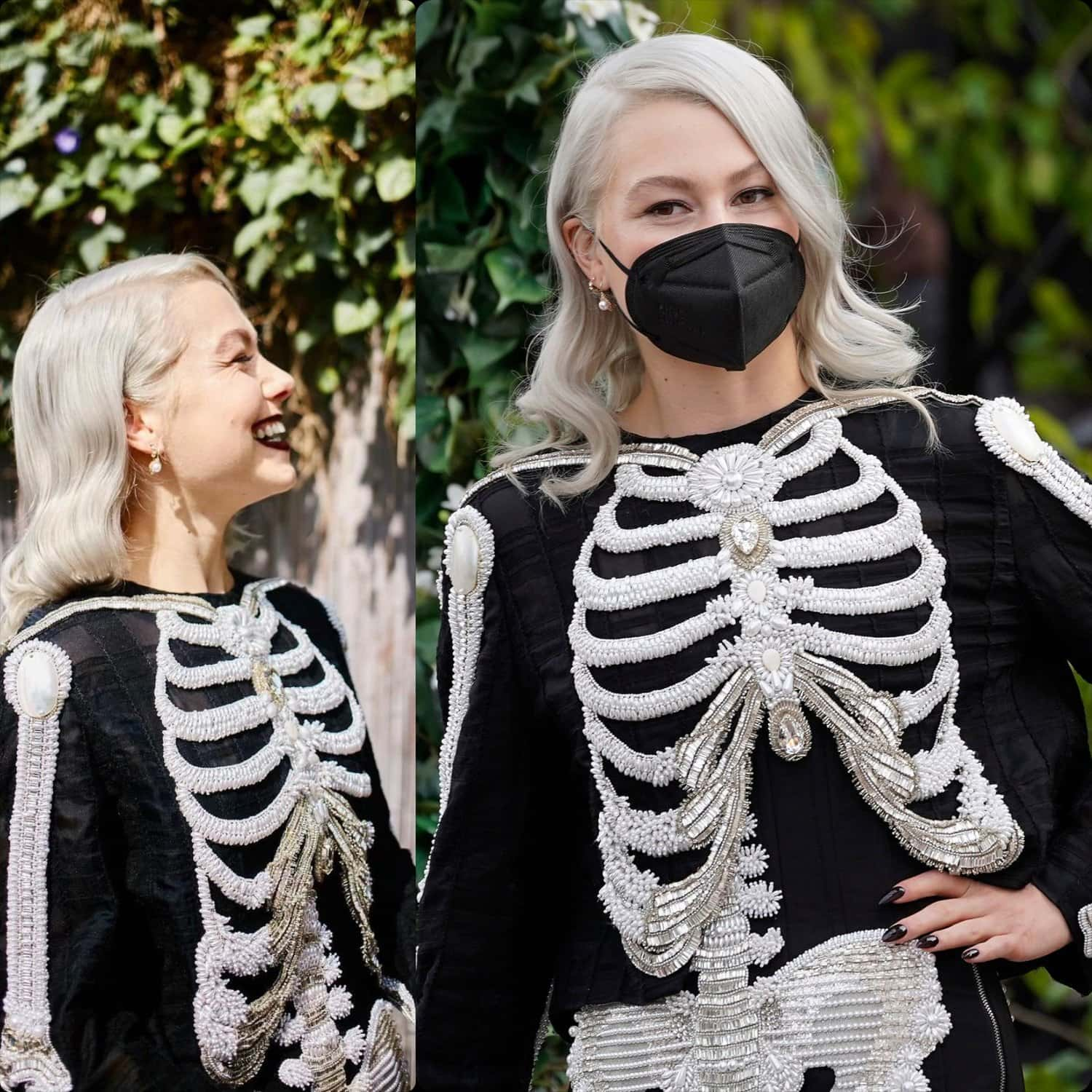 Phoebe Bridgers in Thom Browne at Grammy Awards 2021 by RUNWAY MAGAZINE