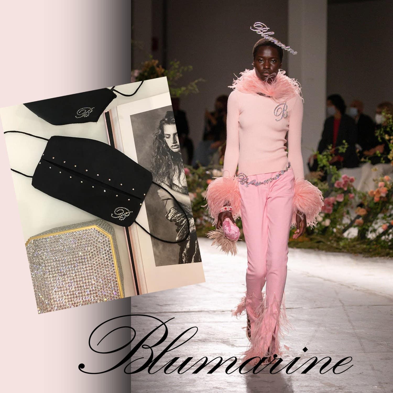 Blumarine Protective Face Mask 2021 by RUNWAY MAGAZINE